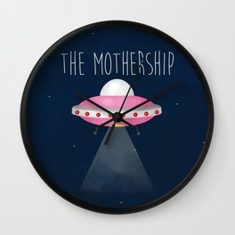 The Mothership Wall Clock