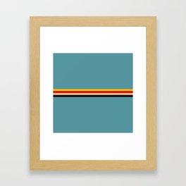 Classic Retro Thesan Framed Art Print