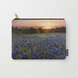 Bluebonnet Texas Carry-All Pouch