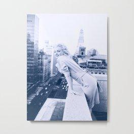 Marylin Monroe Pastel Color 10 Metal Print