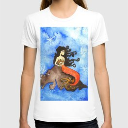 Winter Mermaid T-shirt