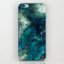 Blue Cove Days. iPhone Skin
