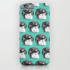 Minifigure Pattern – Teal iPhone 6s Slim Case