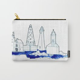 The Lighthouse State Carry-All Pouch