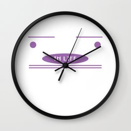 """""""The Best Things In Life Are Not Things"""" tee design. Perfect for your friends and family this season Wall Clock"""