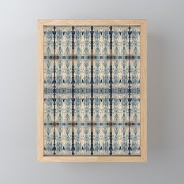 Shibori Eight Framed Mini Art Print