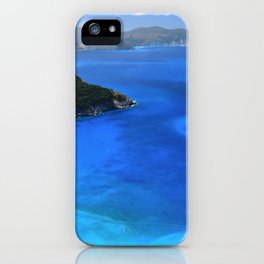 myrtos beach, kefalonia iPhone Case
