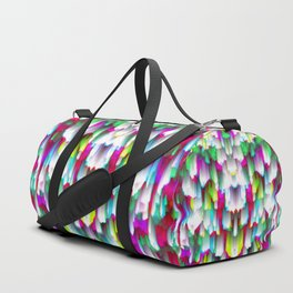 Colorful digital art splashing G396 Duffle Bag