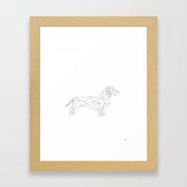 Dachshund Framed Art Print
