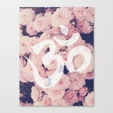 OM: Breath of Floral Canvas Print