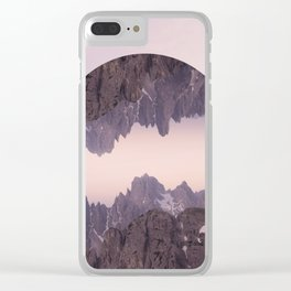 Cliffhanger Clear iPhone Case