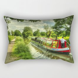 Tivertonian at Manley Bridge Rectangular Pillow