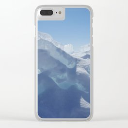 Sunlit ice Clear iPhone Case