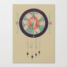 Digital Catcher Canvas Print