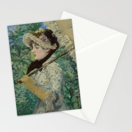 Édouard Manet - Le Printemps (Jeanne Demarsy) Stationery Cards