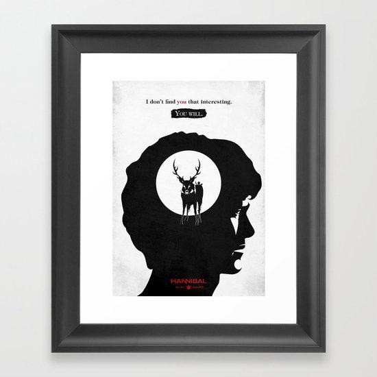 Hannibal - Apéritif Framed Art Print