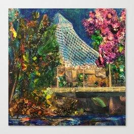 Lilac City 3: Pavilion, Riverfront Park Canvas Print