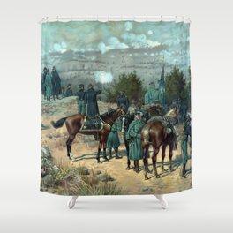 Battle Of Chattanooga - Missionary Ridge Shower Curtain