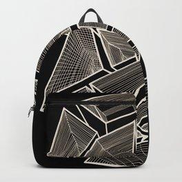 Pockets - Inverted Gold Backpack