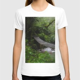 Bridge in the forest T-shirt