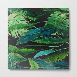 tropical nature compilation at nigth Metal Print