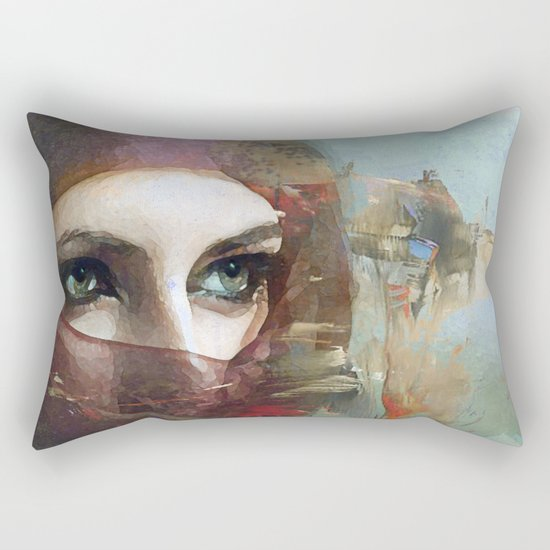 Queen of the desert Rectangular Pillow