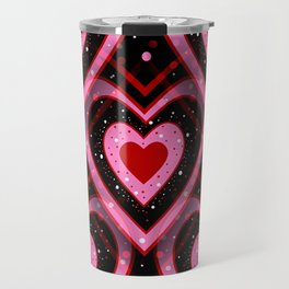 Heavenly Hearts - Happy Valentines Day Travel Mug