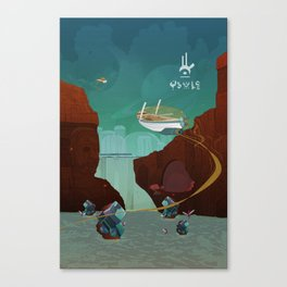 World of Tales Canvas Print