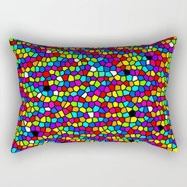 Drops Of Rainbow Rectangular Pillow