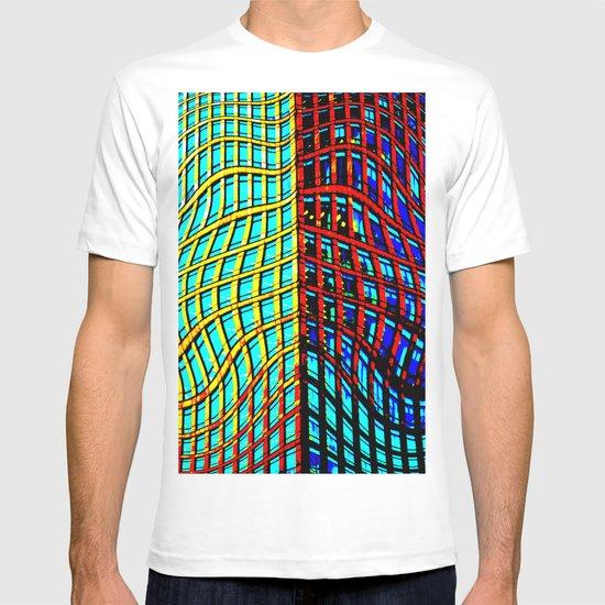 Collapsing Skyscraper T-shirt