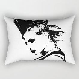 Punk Girl Rectangular Pillow