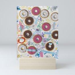 Donut Shoppe Mini Art Print