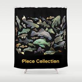 Pleco(Plecostomus) Shower Curtain