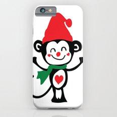 Little Monkey Santa Claus Slim Case iPhone 6s