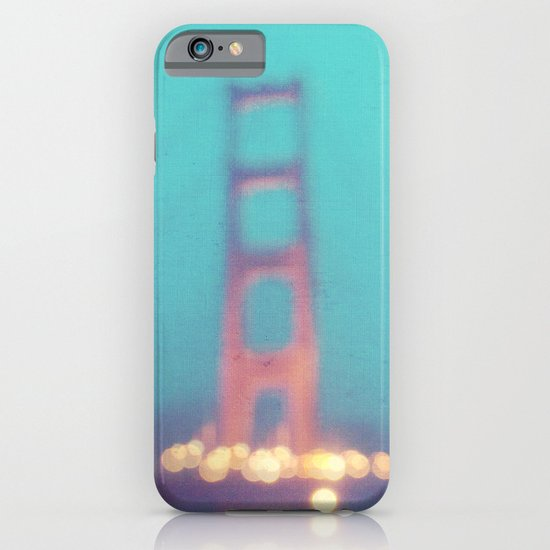 la nuit. San Francisco Golden Gate Bridge photograph iPhone & iPod Case