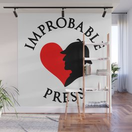 Improbable Press Wall Mural