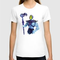 skeletor T-shirts featuring Polygon Heroes - Skeletor by PolygonHeroes