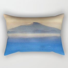 Fuji-san (富士山) original version Rectangular Pillow