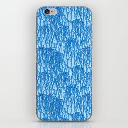 Cascading Wisteria in Blue iPhone Skin