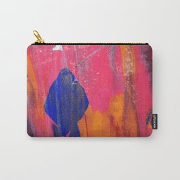 Abstract Marble Paint Mixing Carry-All Pouch