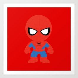 Where's my web? Art Print