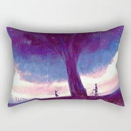 Sky Tree Rectangular Pillow