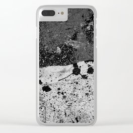 Grit Clear iPhone Case