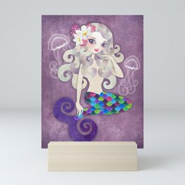 Amethyste Mermaid Mini Art Print