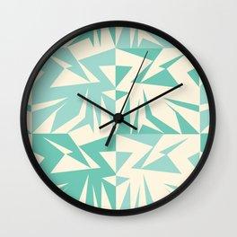 Notan Pattern Wall Clock