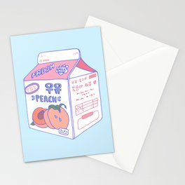 Peach Milk Stationery Cards