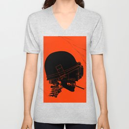 Agent Orange Unisex V-Neck