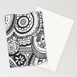 Peeking Through Stationery Cards