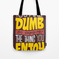 Internet Comments Tote Bag