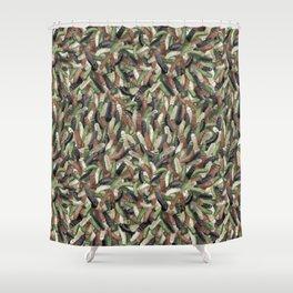 Camouphallic Shower Curtain